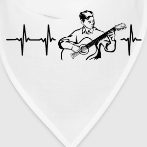 My heart beats for guitars Caps - Bandana
