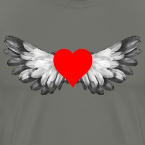 heart wings - Men's Premium T-Shirt