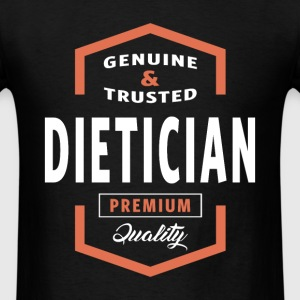Genuine Dietician T-shirt Gift - Men's T-Shirt