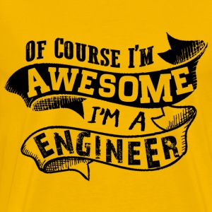Awesome Engineer T-Shirts - Men's Premium T-Shirt