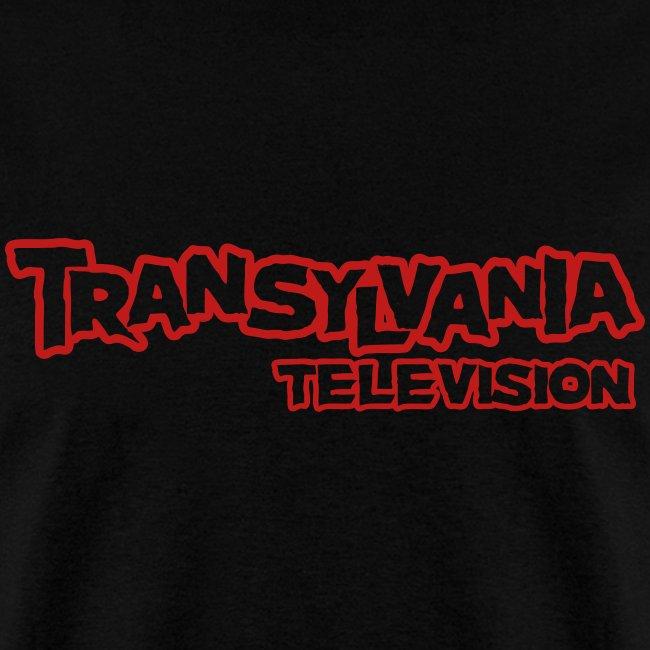 TVTV Red Glitter Logo