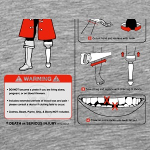 A Guide to Being a Pirate tshirt - Men's Premium T-Shirt