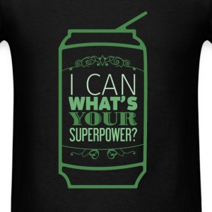 Motivation - I can what's your superpower? - Men's T-Shirt