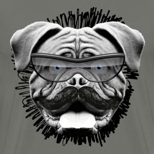 Bulldog T-shirt - Men's Premium T-Shirt