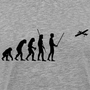 Evolution model airplane Shirt - Men's Premium T-Shirt
