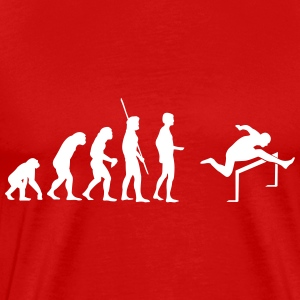 Evolution Hurdles Shirt - Men's Premium T-Shirt