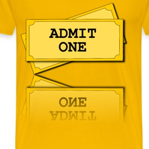 movie tickets - Men's Premium T-Shirt