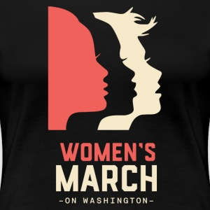 Womens-March-logo - Women's Premium T-Shirt