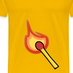 Lit Match - Men's Premium T-Shirt