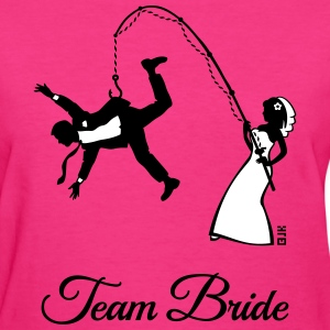 Team Bride Husband Fishing (Hen Party 2C) T-Shirts - Women's T-Shirt