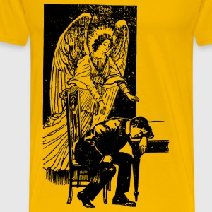 Angel and Man - Men's Premium T-Shirt