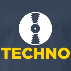 Techno music! T-Shirts - Men's Premium T-Shirt