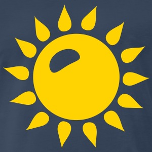 Sun Sunshine Summer Icon T-Shirts - Men's Premium T-Shirt