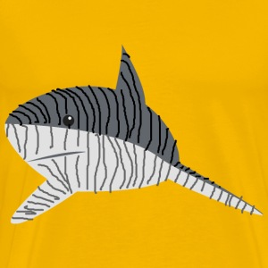 Tiger Shark (Beast Of The Seas) - Men's Premium T-Shirt