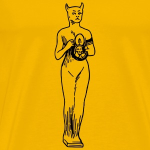 Egyptian cat goddess - Men's Premium T-Shirt