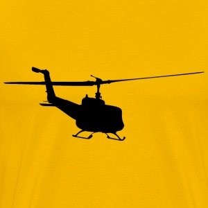 Helicopter Silhouette 6 - Men's Premium T-Shirt