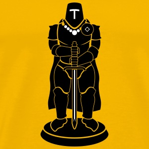 Chess Knight - Men's Premium T-Shirt