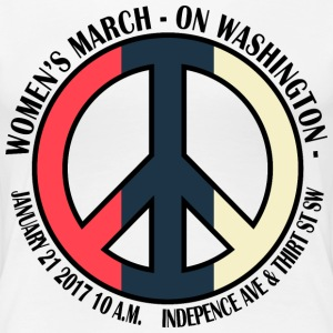 WOMEN'S MARCH new 2 - Women's Premium T-Shirt