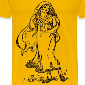 Beautiful Lady - Men's Premium T-Shirt