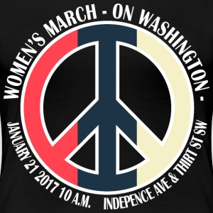 WOMEN'S MARCH new 1 - Women's Premium T-Shirt