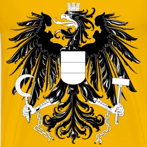 Austria, national coat of arms - Men's Premium T-Shirt