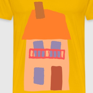 Crooked house 06 - Men's Premium T-Shirt