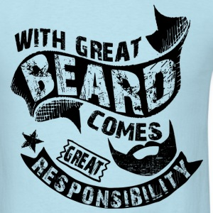 Bearded Man Quotes T-Shirts - Men's T-Shirt