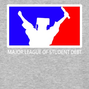 Major League of Student Debt - Baseball T-Shirt