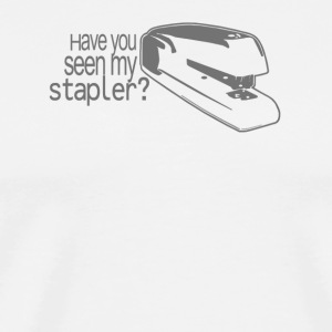 WHERE'S MY STAPLER - Men's Premium T-Shirt