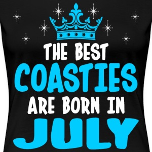 The Best Coasties Are Born In July T-Shirts - Women's Premium T-Shirt