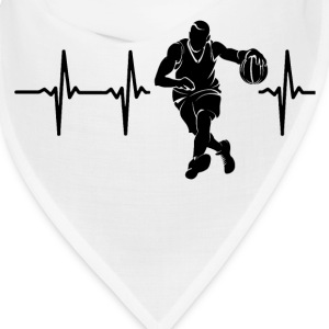 My heart beats for basketball Caps - Bandana