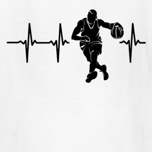 My heart beats for basketball Kids' Shirts - Kids' T-Shirt