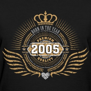 born_in_2005_crown04 T-Shirts - Women's T-Shirt