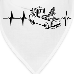 My heart beats for tow-cars Caps - Bandana
