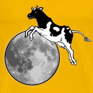The cow jumps over the moon - Men's Premium T-Shirt
