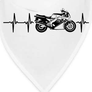 My heart beats for motorbikes Caps - Bandana