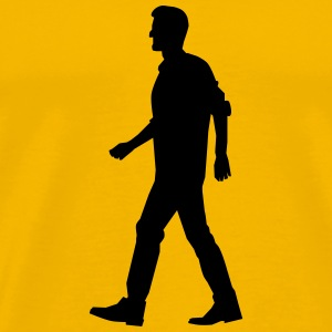 Walking Man - Men's Premium T-Shirt