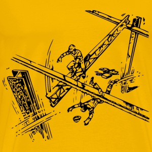 OSHA Danger 5 - Men's Premium T-Shirt