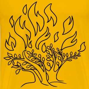 Burning Bush - Men's Premium T-Shirt