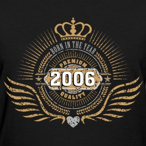 born_in_2006_crown18 T-Shirts - Women's T-Shirt
