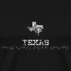 Texas Shape and Nickname - Men's Premium T-Shirt