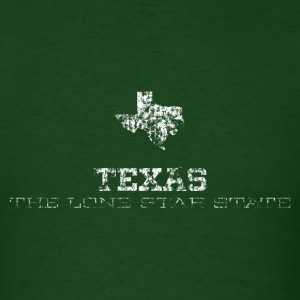 Texas Shape and Nickname - Men's T-Shirt