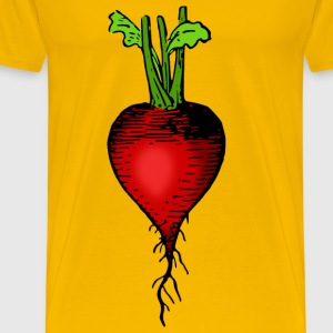 Lutz radish colored - Men's Premium T-Shirt