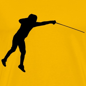 fencing 2 - Men's Premium T-Shirt