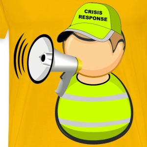 First responder crisis response worker - Men's Premium T-Shirt