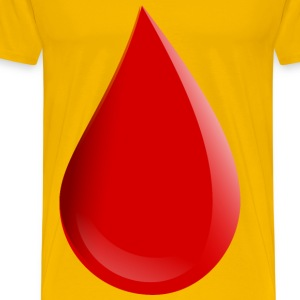 Blood drop - Men's Premium T-Shirt