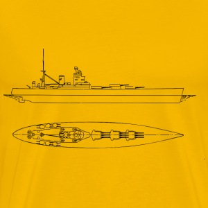 British Battleships Nelson And Rodney - Men's Premium T-Shirt