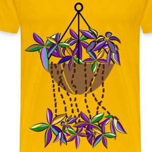 bromeliads in fall - Men's Premium T-Shirt