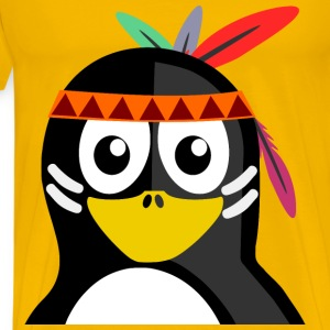 Indian Penguin - Men's Premium T-Shirt