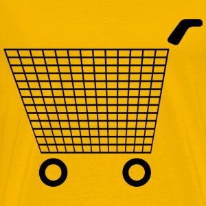 Shopping Cart Icon 3 - Men's Premium T-Shirt